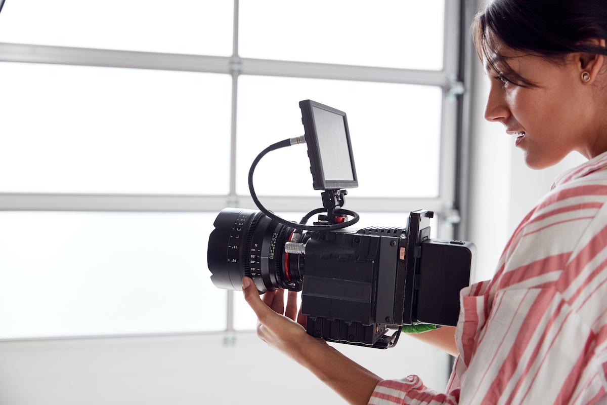 Grabación de vídeo en estudio