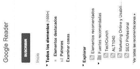 Google Reader Curación Contenidos | Microbio Comunicación