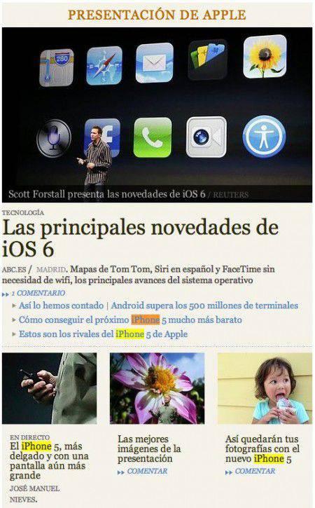 ABC Presentación iPhone | Microbio Comunicación