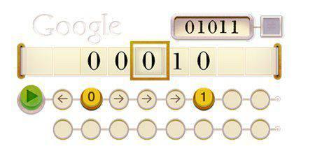 Alan Turing_s 100th Birthday Doodle | Microbio Comunicación