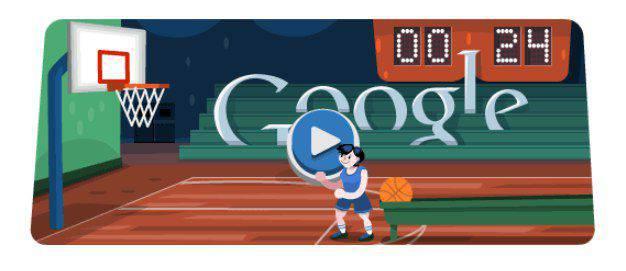 Basketball 2012 Doodle | Microbio Comunicación
