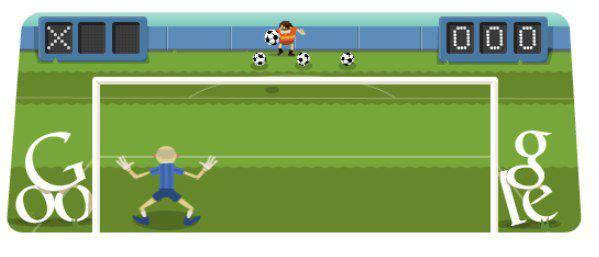 Soccer 2012 Doodle | Microbio Comunicación