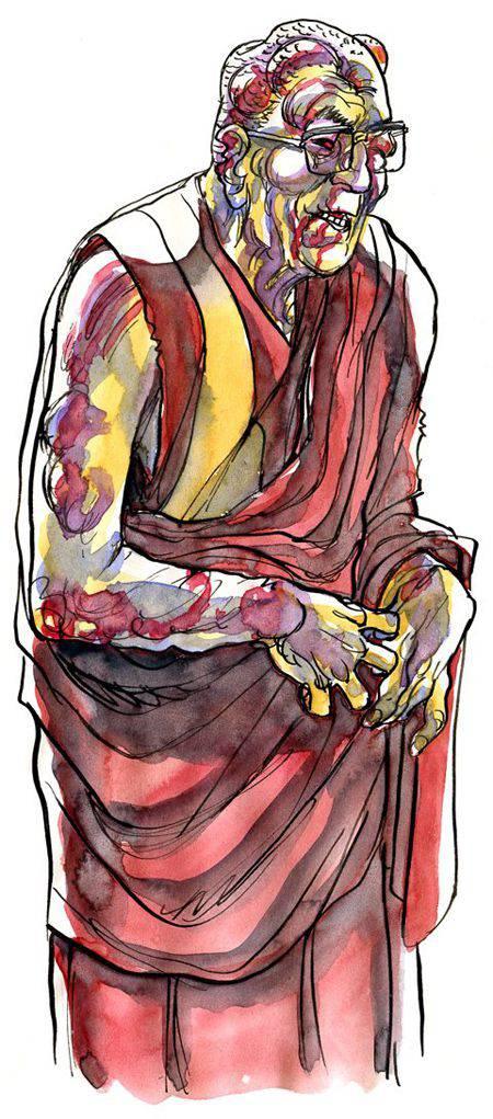 dalai-lama-zombie-Frederik-Peeters | Microbio Comunicación