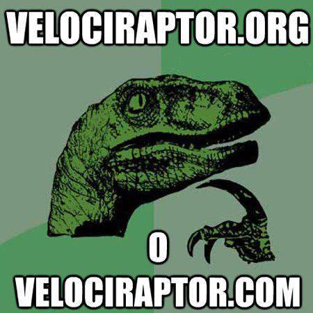 Meme Velociraptor | Microbio Comunicación