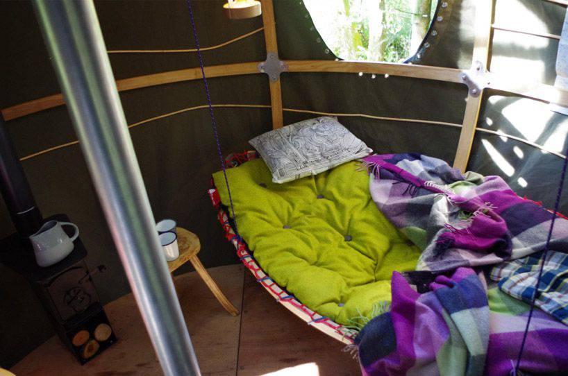 Tree Tent Acampada colgante | Microbio Comunicación