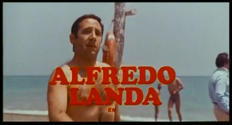 Alfredo Landa Manolo La Nuit