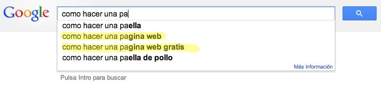 Busquedas Extrañas Google | Microbio Comunicación
