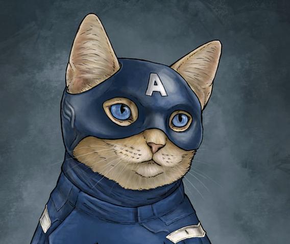 Gatos Superheroes | Microbio Comunicación