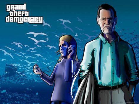 Grand Theft Democracy DS Arranz   Microbio Comunicación