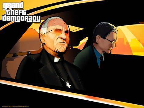 Grand Theft Democracy DS Arranz | Microbio Comunicación