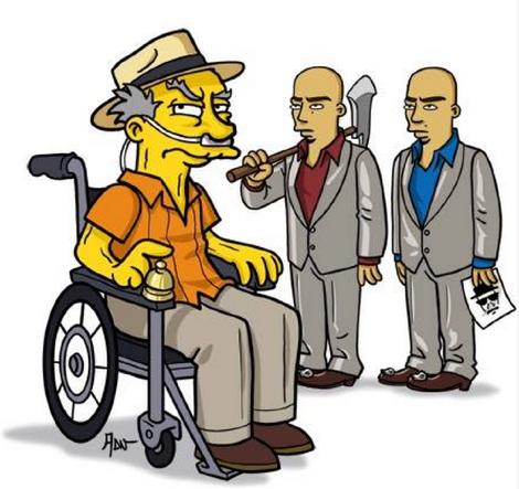 Los Simpson Breaking Bad | Microbio Comunicación