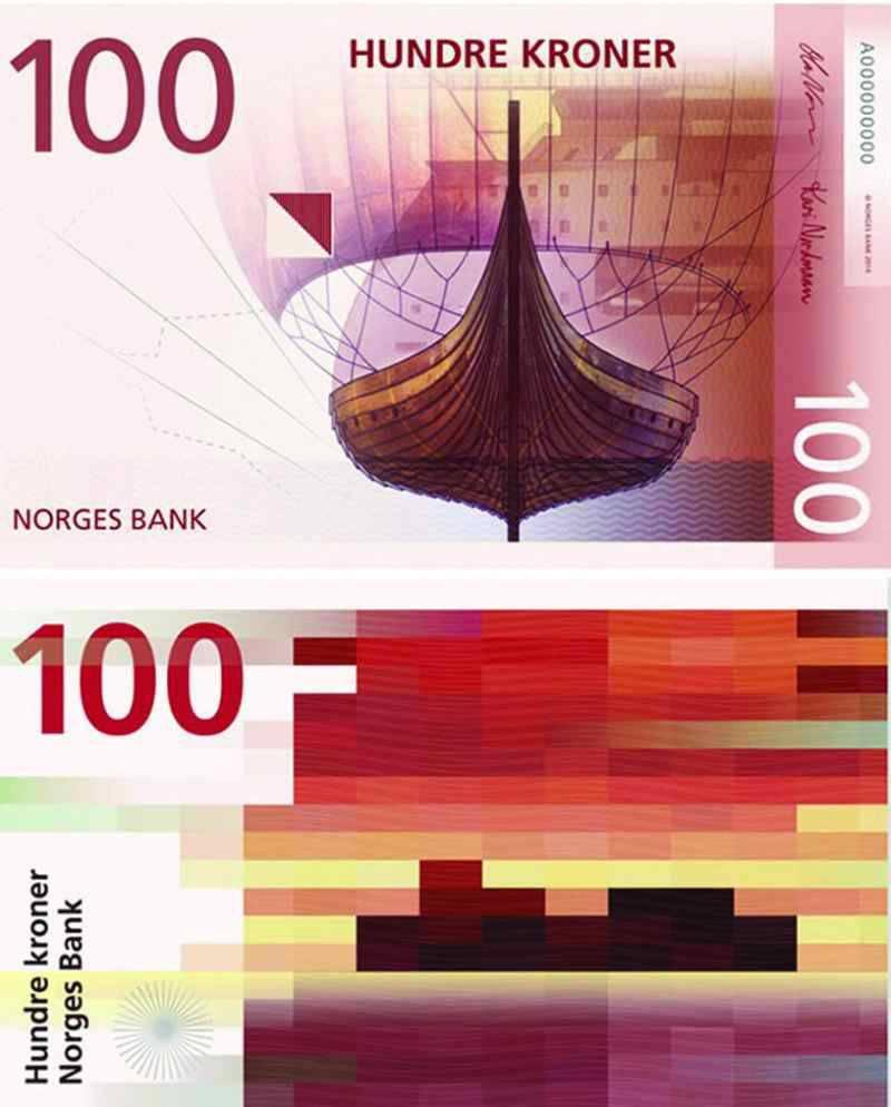 billetes-Noruega-100-Coronas-Blog-Microbio-Comunicación-100-Coronas-824x1024