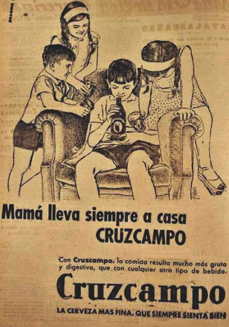cervezas para niños Cruzcampo| Blog Microbio Comunicación