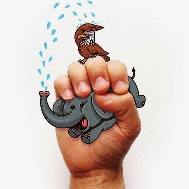 lenguaje de signos ilustrado 2 | Blog Microbio Comunicación