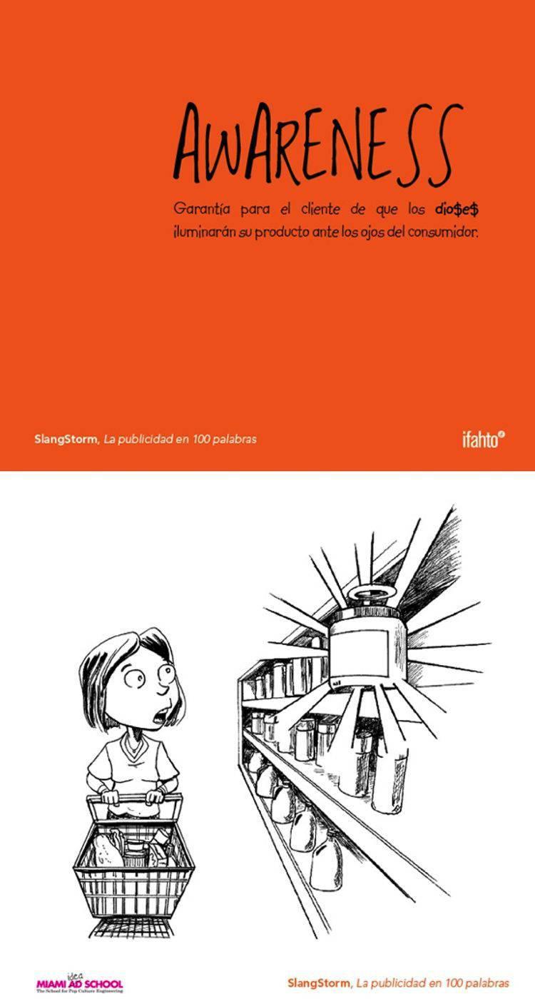 awaraness diccionario publicidad | Blog Microbio Comunicación