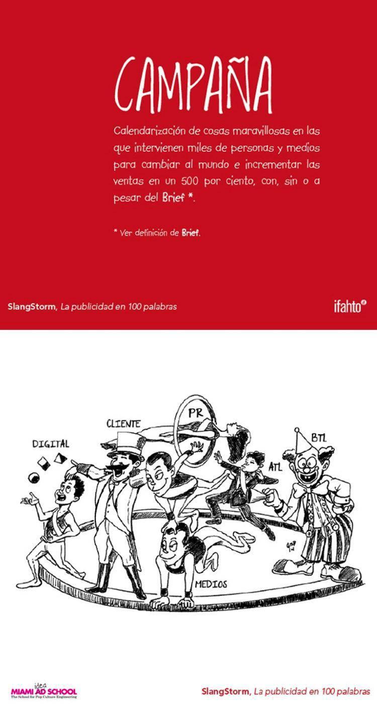 Campaña diccionario publicidad | Blog Microbio Comunicación