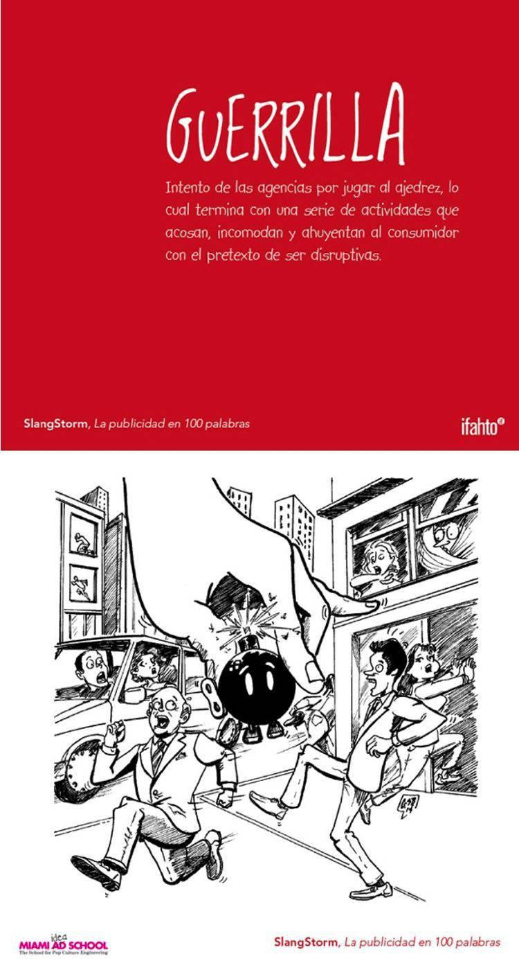 guerrilla diccionario publicidad | Blog Microbio Comunicación