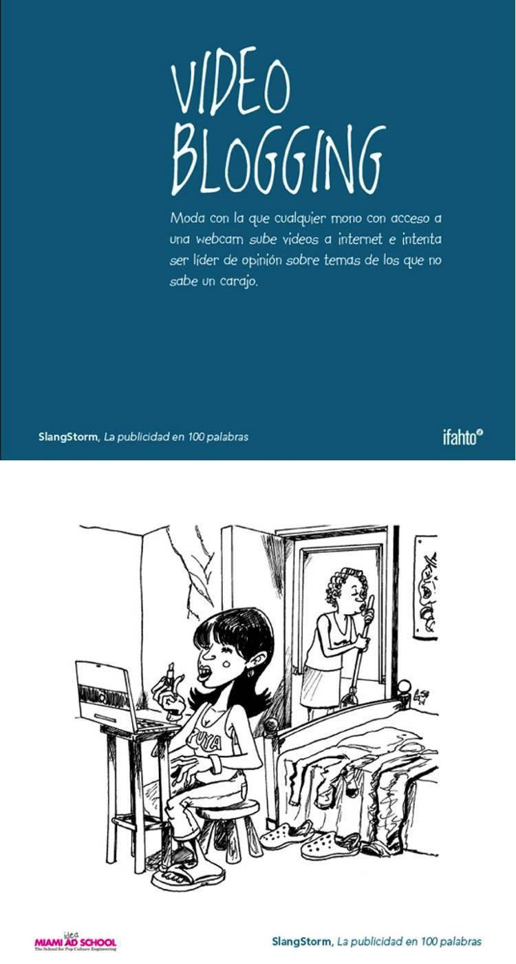 video blogging diccionario publicidad | Blog Microbio Comunicación