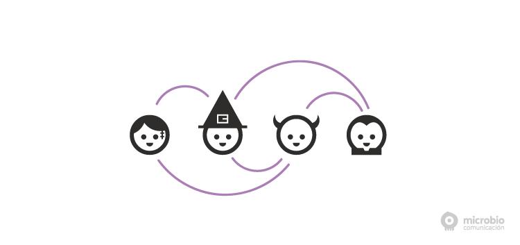 Seas bruja, demonio, vampiro o zombie haz networking en Halloween | Blog Microbio Comunicación