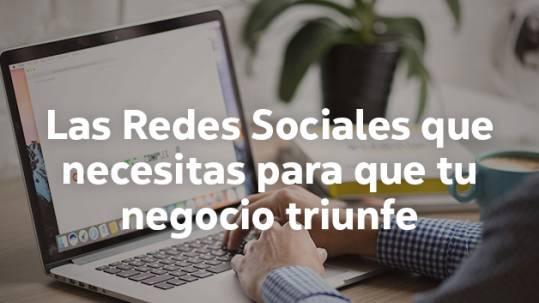 Redes Sociales más apropiadas para cada tipo de negocio