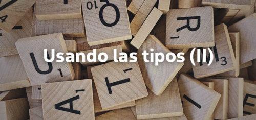 Consejos para distinguir y utilizar las tipografías correctamente.