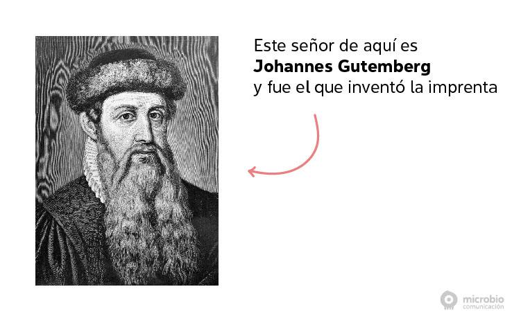 Johannes Gutemberg, inventor de la imprenta