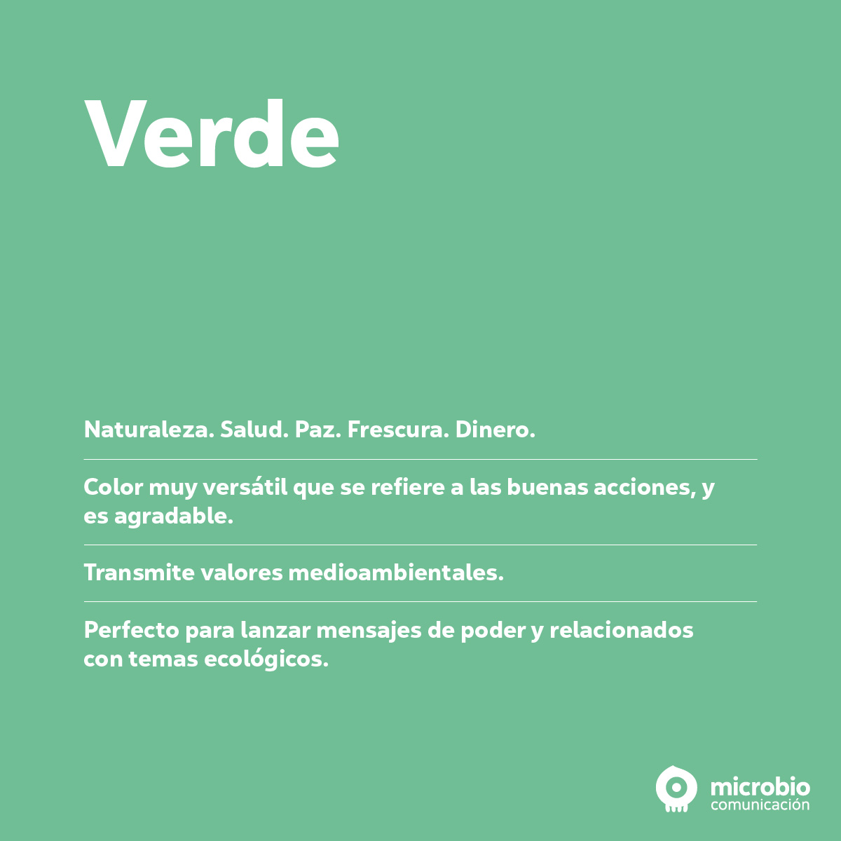 Los colores del marketing: verde