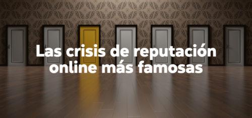 ejemplos de crisis de comunicación online.