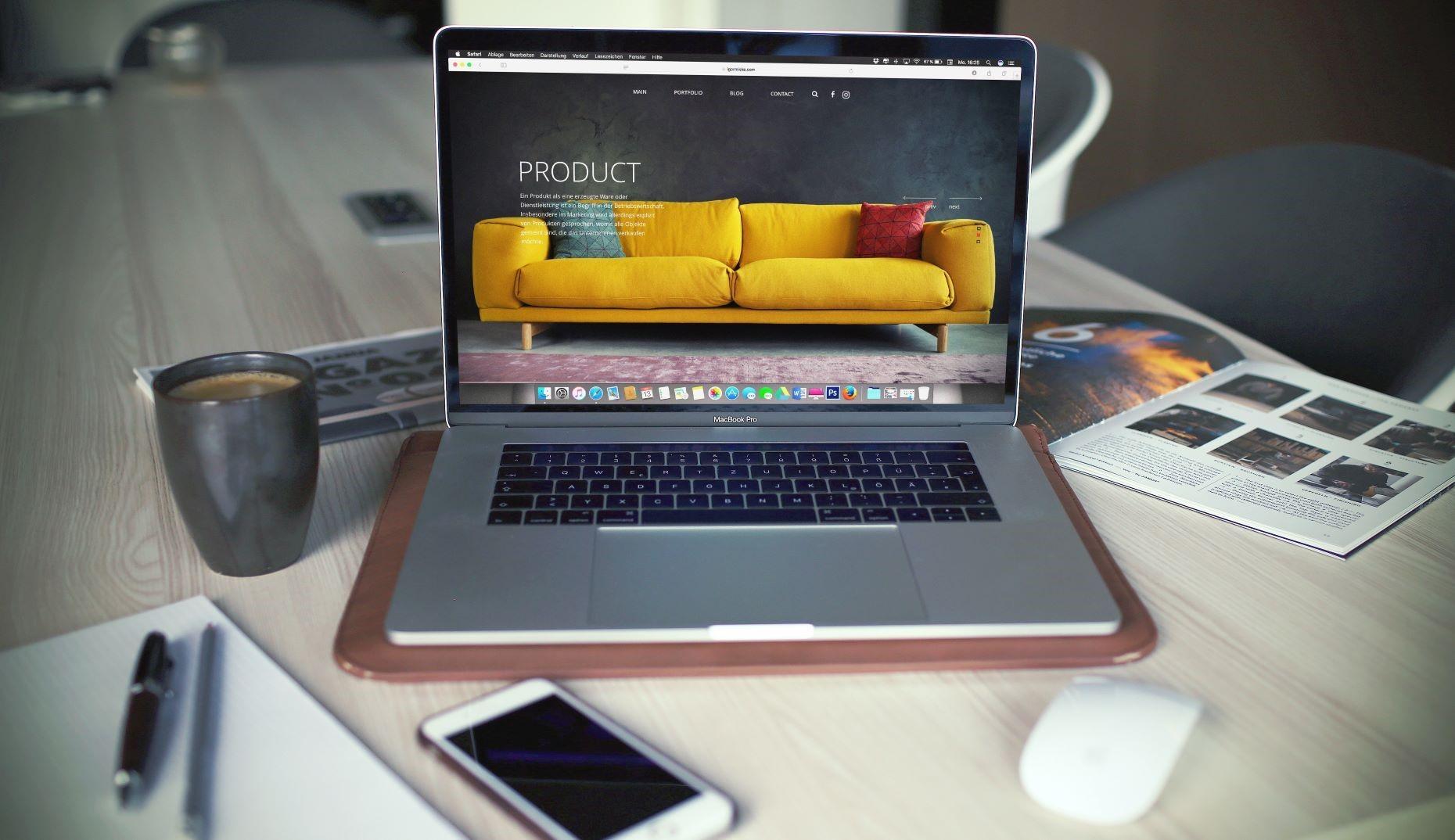 Desarrollo de una web online