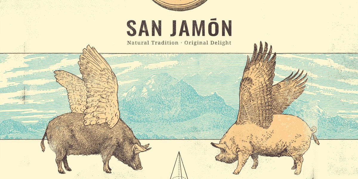 Proyecto Branding San Jamón