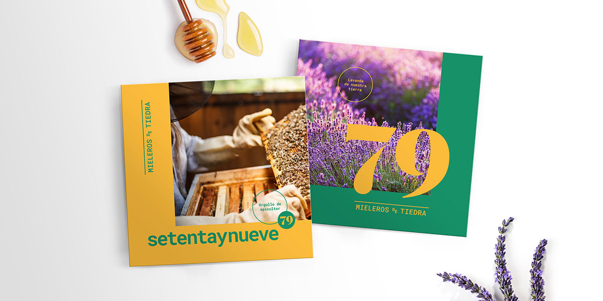 Branding Miel Setenta y Nueve