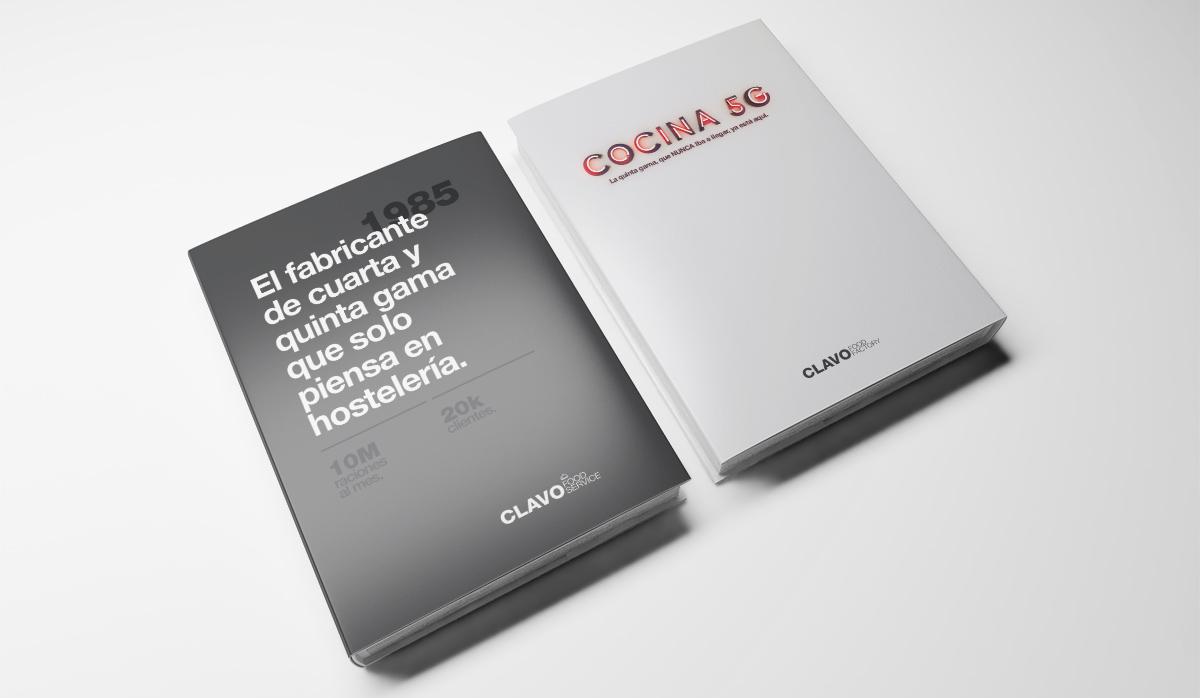 Clavo Food, Diseño de presentación corporativa